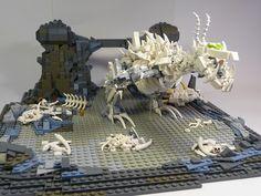 LEGO Boneknapper by Stormbringer #lego #legoset #legodragon #legodinosaur #dragon #dinosaur #bones #legobones #toy #toys