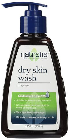 Natralia Dry Skin Wash is a mild and effective soap-free formula thoroughly cleanses, without stripping the skin of its essential oils. Ideal for use in the shower or bath and mild enough for daily use on the entire family. Natural Makeup Remover, Bath Brushes, Body Powder, Coconut Oil For Skin, Body Lotions, Body Spray, Body Wash, Dry Skin, Bath And Body