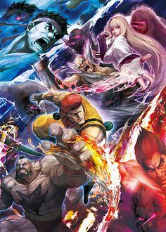 cryamerica:  From the Gaming World-Street Fighter X Tekken