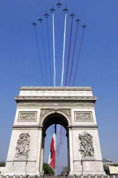 Bastille day in Paris ~Via Nili Epstein