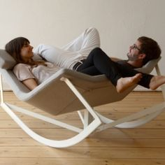 Two person Rocking chair! I want one!