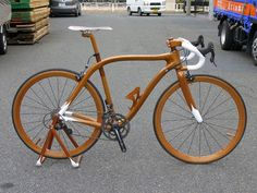 Luxury Racing Bikes Exquisitely Crafted of Mahogany Wood By Sueshiro ...