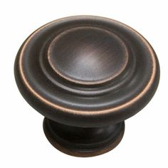 Gatehouse 1.4-in Aged Bronze Round Cabinet Knob  Item #: 229078   LOWES  $2.97 ea. FOR DOORS