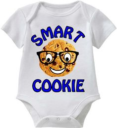 Smart Cookie_Smart Baby Tee Collection_Blue by SmartBabyTees, $19.95