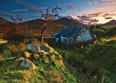Mourne Mountains, County Down, Northern Ireland.