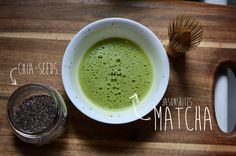 Tea Recipe: #Matcha #Chai Pudding: It's quick, healthy and utterly delicious. #RawSpiceBar
