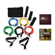 Exercise Fitness Equipment Set Indoor Program Home Gym Kit for Women #ad