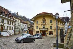 Fribourg Auberge de la Cigogne, Suisse