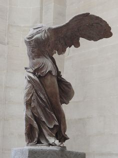 Winged Victory, Paris FRANCE Unaware, I glanced up before climbing the Louvre's grand staircase and was awestruck, forever changed by her.
