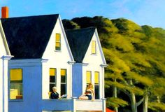 Edward Hopper – Second Storey Sunlight – 1960 – Whitney Museum of American Art, New York