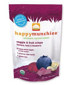Look what I found on #zulily! Banana Beet Blueberry Crisps - Set of Eight #zulilyfinds