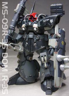 GUNDAM GUY: HGBF 1/144 Dom R35 - Customized Build