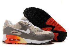 UK Market - Nike Air Max 90 Mens Orange Brown Trainers