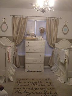 Girl/Boy Twin Nursery