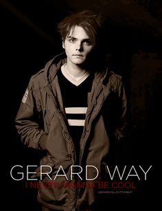 Gerard gifs♥ - gerard-way Fan Art