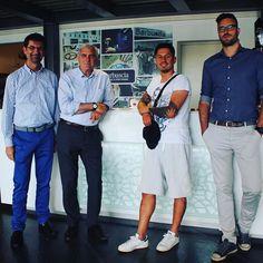Anche noi festeggiamo il successo del #Pescara Calcio con uno dei protagonisti il nostro caro amico Gianluca #Lapadula  #SerieA #pescaracalcio
