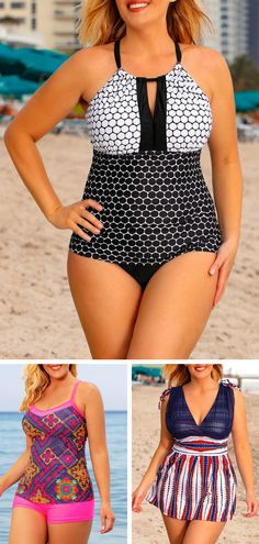 Who says one-piece bathing suits have to be drab and unflattering? We scoured the net to find 10 swimsuits that prove that one-pieces can be sexy, too! Summer Fashion For Teens, Summer Fashion Outfits, Trendy Outfits, Cute Outfits, Kimono Lingerie, Photos Bff, Videos Instagram, Summer Wear, Style Summer