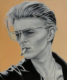 Bowie #4 - Fourth in the David Bowie series by Lee-Howard-Art on deviantART