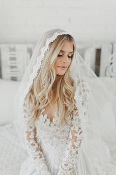 Wedding Guest Dresses Chic our Weddingwire Knoxville Wedding Invitations Size Mantilla Veil, Lace Veils, Wedding Veils, Wedding Dresses, Bridal Veils, Bridal Hair, Bridal Fashion Week, Marie, Wedding Hairstyles