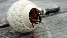 Don't tap your meerschaum against a hard surface. If you tap it in your palm, be sure to support the shank, as well as the mortise/tenon area firmly with ...