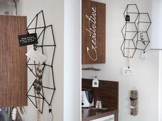 DIY 3D Hexagon-Pinnwand