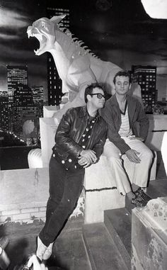 Ghostbusters Dan Aykroyd and Bill Murray Dan Aykroyd he is soo cute