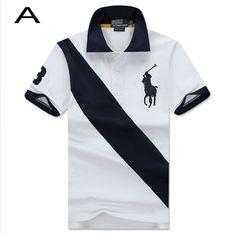 Polo Ralph Lauren Men Custom Fit Sash Polo Short Sleeve White Black