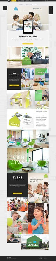 Lemon Sky / website redesign concept by Staszek Błędniak, via Behance