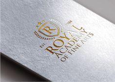 Gold Foil Logo Mockup<br><br>МокАп для Вашего…