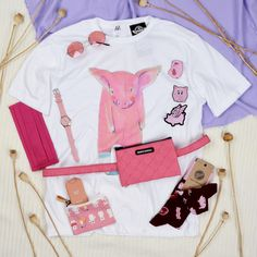 #pig #pink #cute #pattern #tshirt #patch #accessories #mask #manymornings #socks #szputnyikshop #budapest Leather Ring, Copper Rings, Budapest, Finding Yourself, Socks, Pink, Accessories, Collection, Color