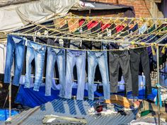 Drying Jeans by gbisone #architecture #building #architexture #city #buildings #skyscraper #urban #design #minimal #cities #town #street #art #arts #architecturelovers #abstract #photooftheday #amazing #picoftheday