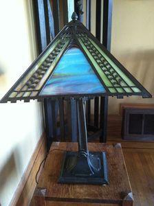 Mission Arts & Crafts Era table lamp | eBay