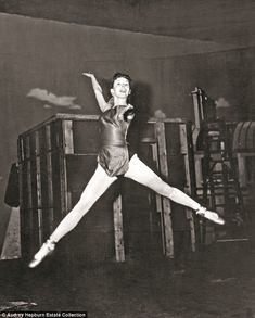 Tiny dancer: Audrey Hepburn's dream of becoming a ballerina was thwarted by the Nazi occup...