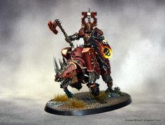Age of Sigmar   Khorne Bloodbound   Skullcrusher of Khorne #warhammer #ageofsigmar #aos #sigmar #wh #whfb #gw #gamesworkshop #wellofeternity #miniatures #wargaming #hobby #fantasy