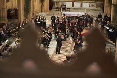 """""""Bach en Madrid"""" dirigida por José del Río J. S. Bach - Misa en Si menor BWV 232 - Capilla Real de Madrid e Hippocampus en la Parroquia Santuario de Nuestra Señora del Perpétuo Socorro de Madrid"""