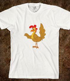goofy chicken