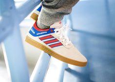 Adidas Claremont ADV - Crystal White/Scarlet/Bluebird - 2016 (by Seth Hematch) Find shops