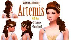 Woman Hair _ Bun Hairstyle Fashion The Sims 4 _ - The Sims 4 Love Life Asia VietNam The Sims 4 Pc, Sims Four, Sims Cc, Sims 4 Mods, Maxis, Sims 4 Challenges, Greek Hair, Sims Medieval, Medieval Hairstyles