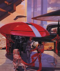 Syd Mead Sentinel Cover art   Flickr - Photo Sharing!