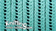 lace rib stitch