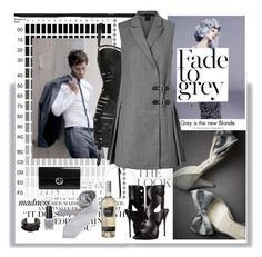 """Seal the deal ^"" by red-fashion ❤ liked on Polyvore featuring Gwyneth Shoes, Shades of Grey by Micah Cohen, Dansk, Bordelle, Marc by Marc Jacobs, Giuseppe Zanotti, Lynn Ban, Gucci and OPI"