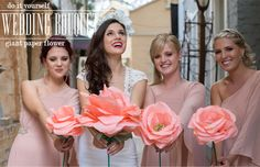 DIY: giant tissue paper flower rose (bridal wedding bouquet) madeinpretoria