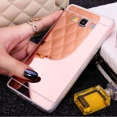 Mirror Case Soft Back Cover For iphone Samsung Galaxy J3 J5 J7 A3 A5 2016 S3 S4 S5 Neo S6 S7 edge Grand Prime SE 5s 6 6s 7 Plus