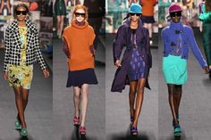Runway Looks for Less: Tracy Reese Fall 2012 RTW