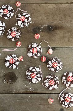 Peppermint Kiss Cookies