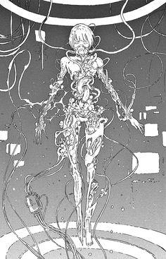 Tsutomu Nihei - Knights of Sidonia.