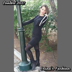 Διαγωνισμός του Irina's Fashion με δώρο γυναικείο φόρεμα με ρίγα στο πλάι http://getlink.saveandwin.gr/9Dw