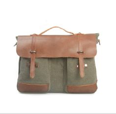 genuine leather canvas bag collection  click to order http://canvasbag.co/product/canvas-bag-backpack-leather-briefcase-leather-messenger-bag-laptop-bag-leather-canvas-bag/