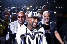 Fight Week Diary: Anticipation ramps up as Mayweather and Pacquiao meet Floyd Mayweather, Manny Pacquiao, Center Stage, Trainers, Coaching, Boxing, Meet, Sneakers, Life Coaching