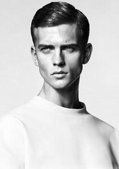 campoffice: Benjamin Eidem wears Calvin Klein Collection in a still taken from a short film created for Hercules Universal by Alex Lindahl ...
